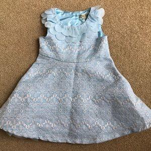 OshKosh Beautiful Blue Dress Tulle Easter 2T